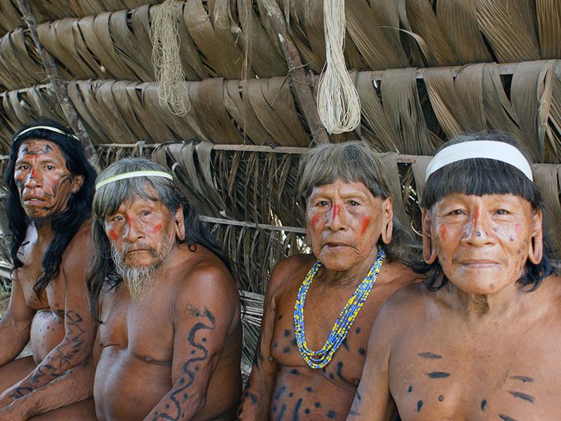 Amazon Tribe Huaorani - by Bowers Fashion
