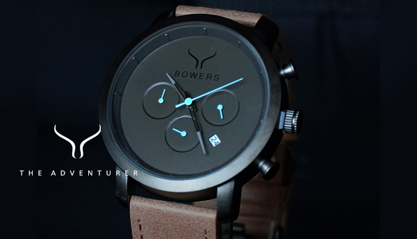 The Adventurer - by Bowers Fashion Watches for Men