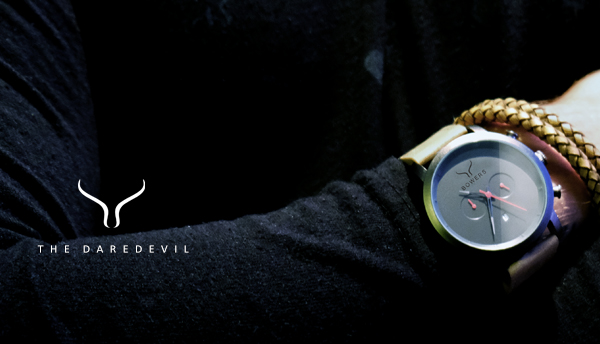 The Daredevil - by Bowers Fashion Watches for Men