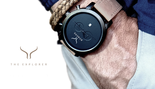The Explorer - by Bowers Fashion Watches for Men
