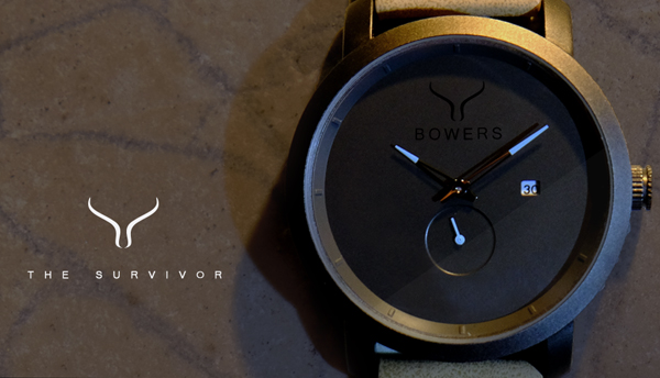 The Survivor - by Bowers Fashion Watches for Men